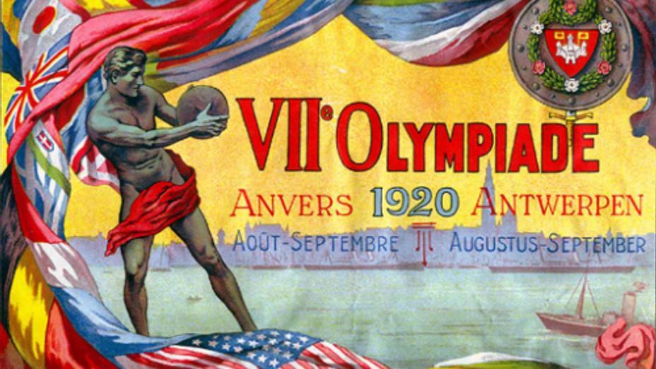 96 лет назад открылись VII летние Олимпийские игры в Антверпене ...
